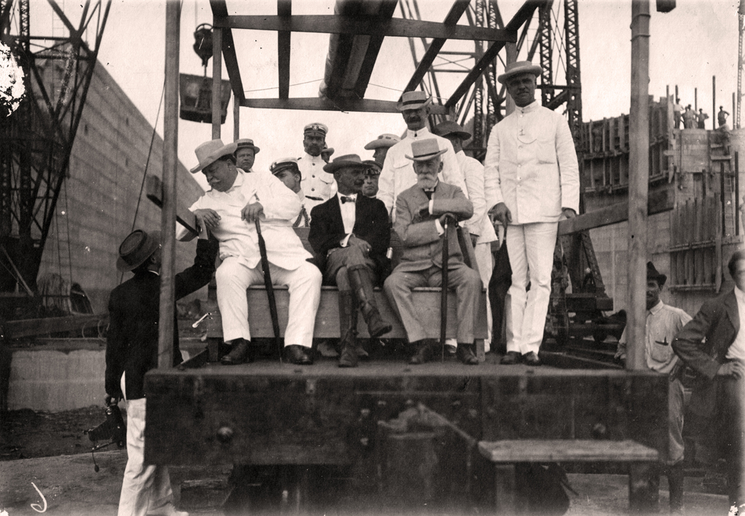 army engineers and the building of the panama canal  1907