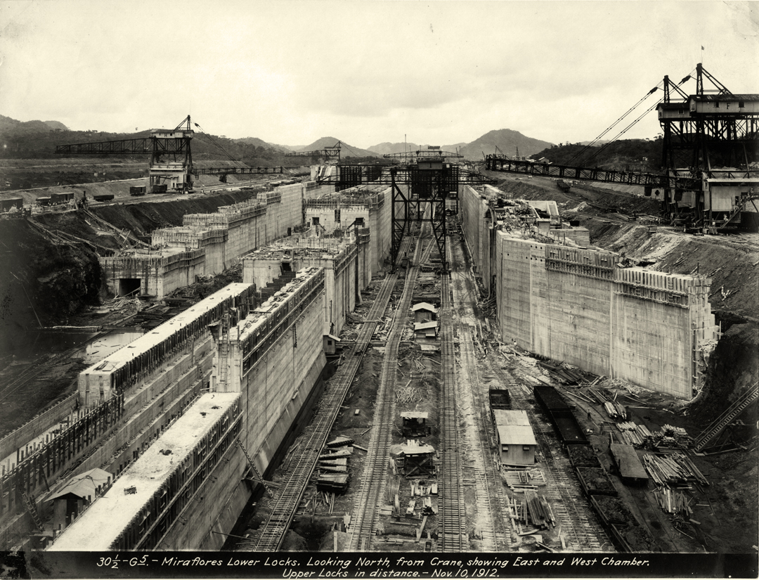 a look at the rocky history of the panama canal An aerial view of the expanded panama canal at the cocoli locks in panama city  for a first-hand look at the experience of cruising through the canal's smaller locks, scroll through the .