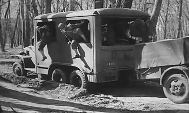A corps of military engineers usually travels with troops to supply water using specialized mobile purification units, which form part of engineer water supply battalions during the 1940s. (1940s)